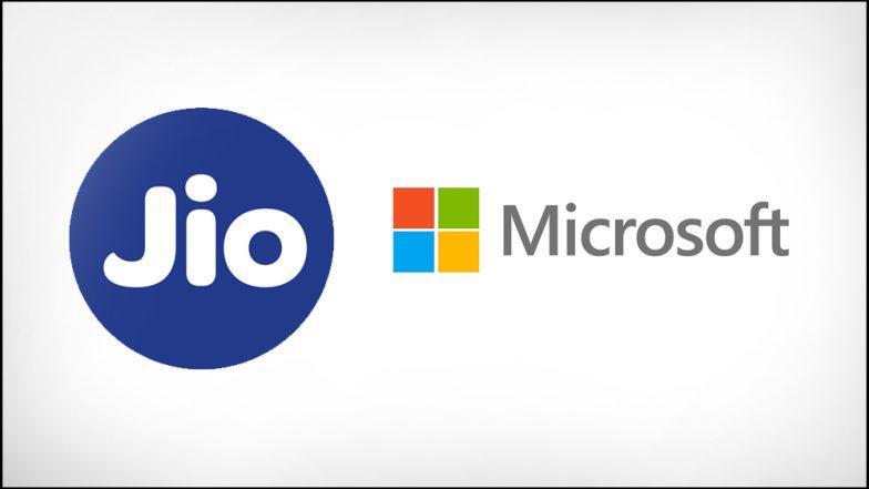 Reliance Jio, Microsoft Team Up for Digital Transformation Alliance