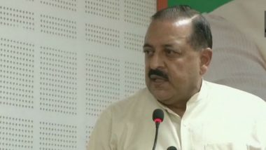 MoS Jitendra Singh Says Time to 'Free Pakistan Occupied Kashmir (PoK)', Hopes to See it Happening in 'This Lifetime'