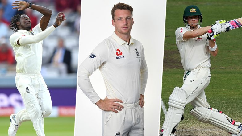 Jofra Archer and Jos Buttler Caught Smiling as Steve Smith Writhes in Pain on Ground, Netizens Slam England Players For Disrespectful Behaviour During Ashes 2nd Test 2019