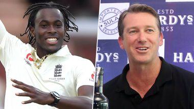 Glenn McGrath Is a Big Supporter of Jofra Archer, Says 'I Love What I See in the Pacer'