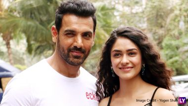 Mrunal Thakur Talks about Playing the Role of John Abraham's Wife and a Journalist in Batla House