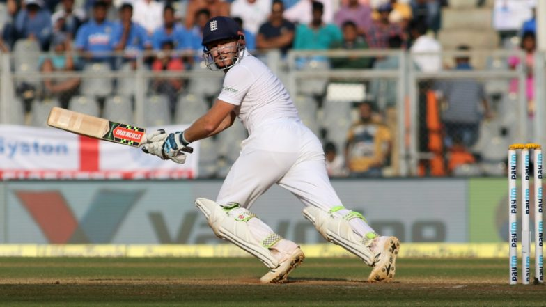 Jonny Bairstow Included in England Squad As Injury Back-Up for Joe Denly in the Upcoming Test Series Against New Zealand