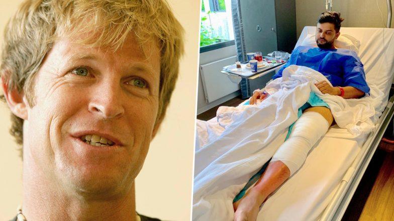 Jonty Rhodes Posts Heartwarming Message for Suresh Raina After Indian Cricketer Undergoes Successful Knee Surgery