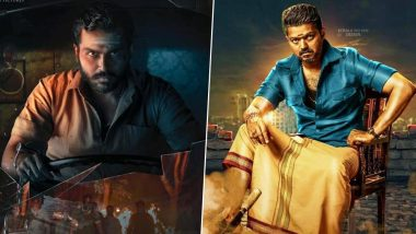 Kaithi New Poster: Karthi's Action Thriller To Clash With Thalapathy Vijay's Bigil on Diwali 2019