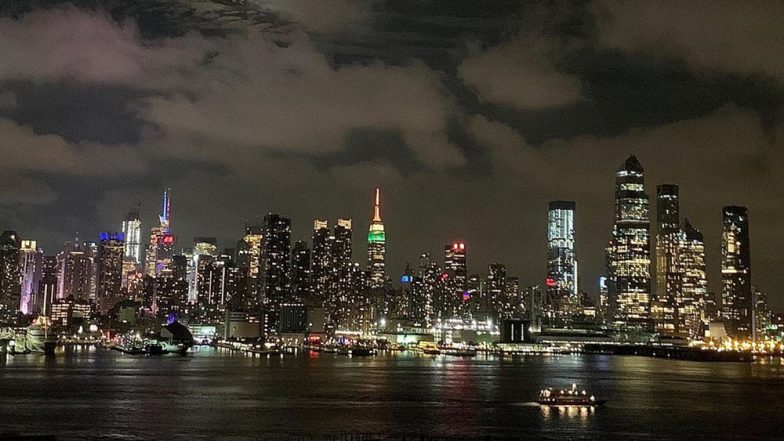 Empire State Building in New York Lit in Tricolour on Indian Independence Day 2019, Social Media Turns Jubilant