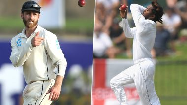Akila Dananjaya and Kane Williamson Reported for Suspect Bowling Action in the 1st Sri Lanka vs New Zealand 2019 Test