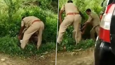 Uttar Pradesh: 2 Cops Exchange Blows in Kanpur Over 'Front Seat' in UP Police Vehicle, Video Goes Viral