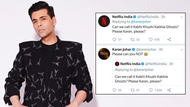 Ghost Stories or Kabhi Khushi Kabhie Ghost? Karan Johar and Netflix's Fight over Film's Title Is Hilarious!