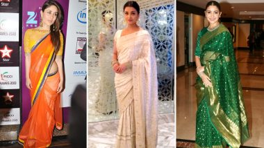 Independence Day 2019: Let Kareena Kapoor Khan, Aishwarya Rai Bachchan and Anushka Sharma Teach you some Tricolour Fashion this 15th August (View Pics)