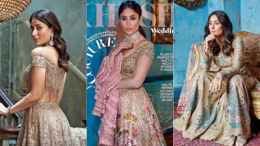 Kareena Kapoor Khan Looks Exquisite In Rimple And Harpreet Couture As She Graces KHUSH Wedding Magazine's Cover - View Pics!