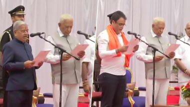 Karnataka Cabinet Formation: 16 BJP Legislators, One Independent MLA Sworn in as Ministers, Full List Here