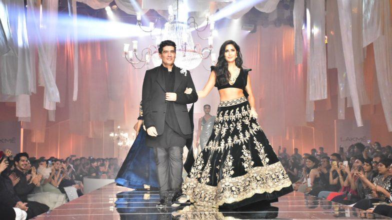 Manish Malhotra and Katrina Kaif Open Lakme Fashion Week Winter/Festive 2019 With a Bang (View Pics)