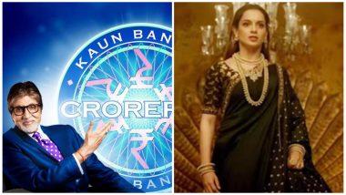 Kaun Banega Crorepati 11: Amitabh Bachchan's Quiz Show's First Question Will Make Kangana Ranaut Fans Happy!