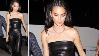 Yo or Hell No! Kendall Jenner in Rosetta Getty and Alexander Wang for Sisters Night with Kylie Jenner