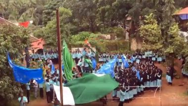 Video From Kerala Shows Over 30 Students Waving Pakistan Flag at College Campus, Charges Framed