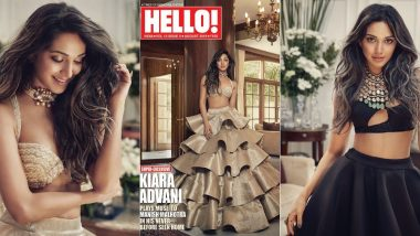 Kiara Advani Plays A Muse to Manish Malhotra On Hello Mag Cover And God Help Us All For She Looks Super Gorgeous - View Pics