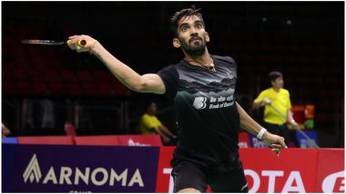 Kidambi Srikanth Reaches Semi-Final in Hong Kong Open 2019 as China's Olympic Champion Chen Long Retires