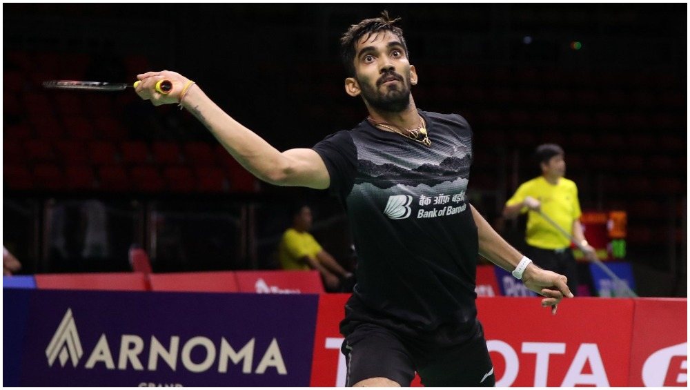 Kidambi Srikanth Reaches Hong Kong Open 2019 Semi-Final as China's Olympic Champion Chen Long Retires