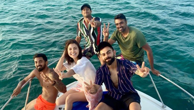 Virat Kohli and Co. Enjoy Some Fun Time On The Cruise After Winning First Test Against West Indies in Antigua (View Pictures)