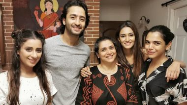 Shaheer Sheikh and Erica Fernandes Catch Up To Surprise Their Kuch Rang Pyaar Ke Aise Bhi Co-Star Supriya Pilgaonkar!