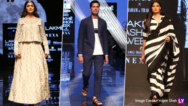 LFW 2019 Day 3: Mrunal Thakur, Athiya Shetty, Sumeet Vyas Dazzle at Lakme Fashion Week Winter/Festive