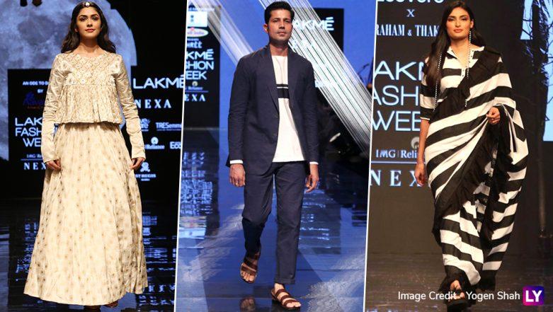 LFW 2019 Day 3: Mrunal Thakur, Athiya Shetty, Sumeet Vyas Dazzle at Lakme Fashion Week Winter/Festive
