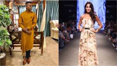 LFW Winter/Festive 2019: Hardik Pandya and Lisa Haydon to Walk For Amit Aggarwal at Lakme Fashion Week