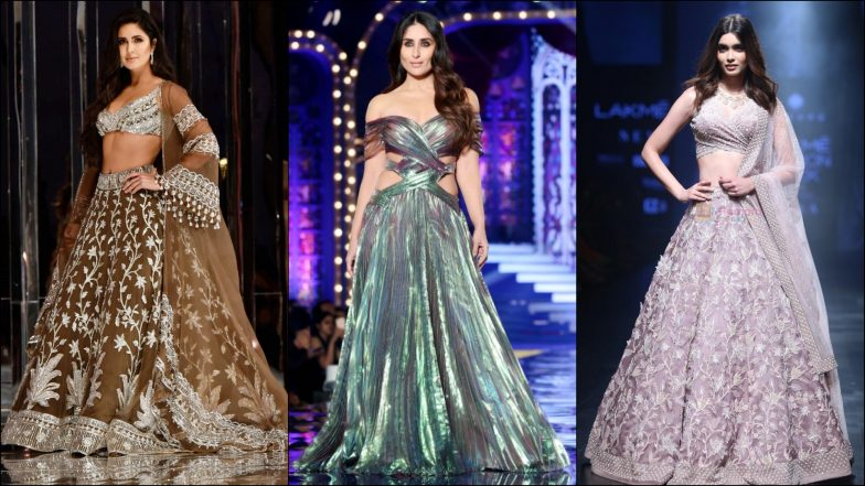 Lakme Fashion Week Winter/Festive 2019 Schedule: Dates When Katrina Kaif, Kareena Kapoor Khan & Others Will Walk for Designers at LFW