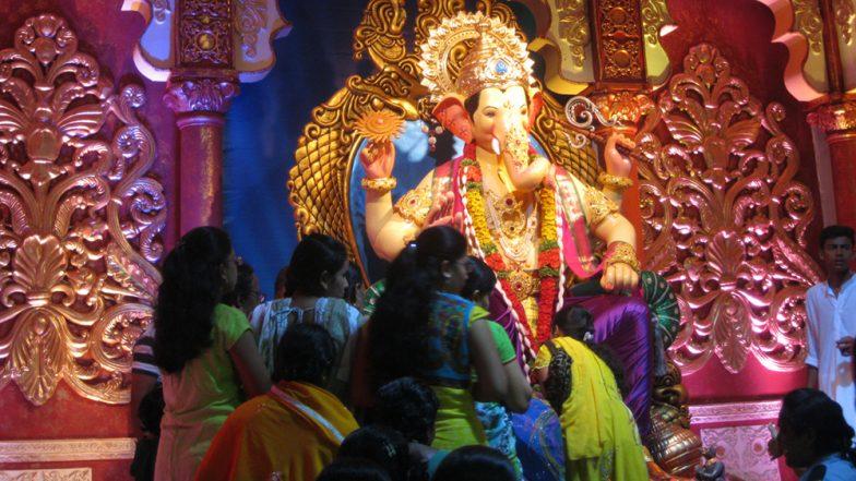 Lalbaugcha Raja 2019 Darshan: How to Reach The Famous Ganeshotsav Pandal of Mumbai By Train or Road This Ganesh Chaturthi