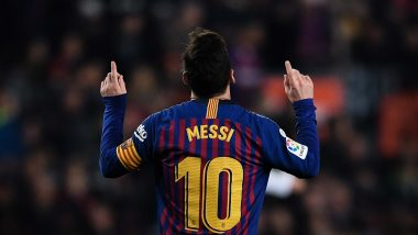 Lionel Messi in FIFA Puskas Award 2019 Nominees' List, in Fray to Join Cristiano Ronaldo and Neymar for Scoring 'Most Beautiful' Goal