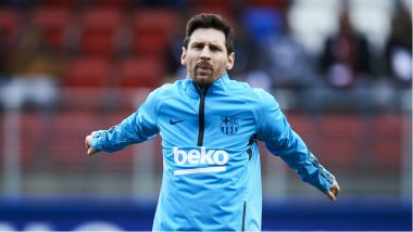 Lionel Messi Injury Latest News Update: A Fit Argentine Set for Barcelona Return Against Real Betis