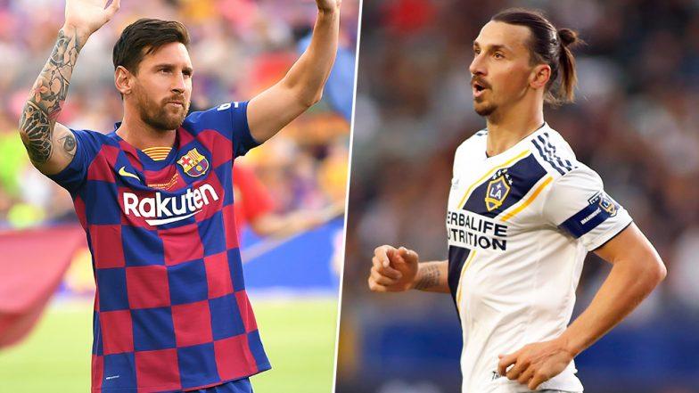 FIFA Goal of The Year 2019: Lionel Messi, Zlatan Ibrahimović Named in FIFA Puskás Award Nominees' List