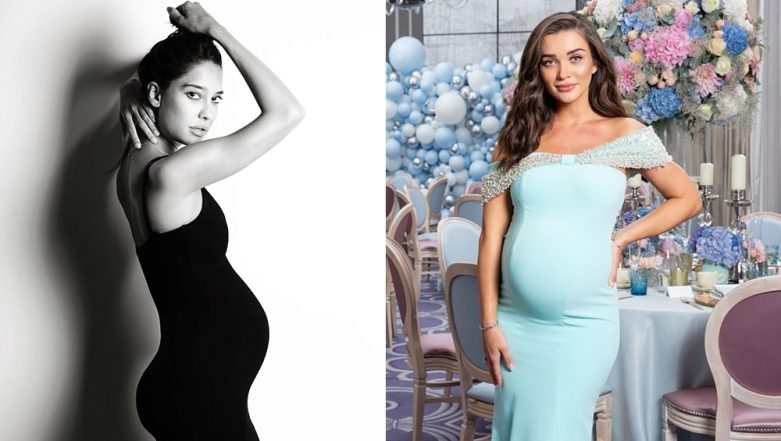 Lisa Haydon and Amy Jackson's Pregnancy Photo-shoot in London Shows How to Flaunt Baby Bump in Style (View Pics)