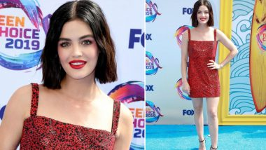 Yo or Hell No! Lucy Hale in Jean Paul Gaultier for the FOX's Teen Choice Awards 2019