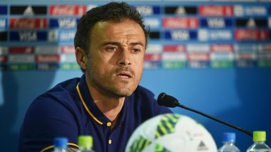 Luis Enrique to Replace Robert Moreno and Return as Coach of Spain