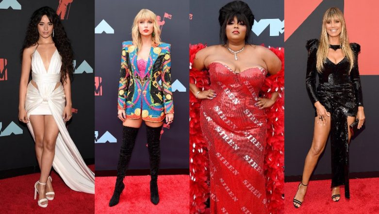 MTV VMA's 2019 Best Dressed Celebs: Taylor Swift, Gigi Hadid, Camila Cabello, Lizzo Looked Uber Chic At The Red Carpet! View Pics