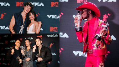 MTV Video Music Awards 2019 Full Winners List: Ariana Grande, Lil Nas X, the Jonas Brothers, Billie Eilish Take Home Majority Of The Trophies!