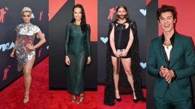 MTV VMA's 2019 Worst Dressed Celebs: Shawn Mendes, Adriana Lima, Jonathan Van Ness, Bebe Rexha Did Not Live Up To The Panache Meter Of the Red Carpet