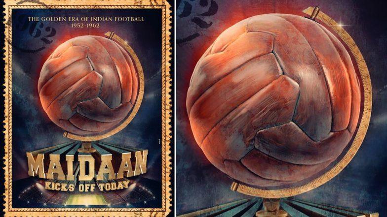Maidaan First Look: Ajay Devgn's Film on Football Coach Syed Abdul Rahim Goes on Floors