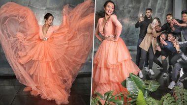 Yo or Hell No! Malaika Arora Opts for a Peach Ruffled Jason Grech Gown for IFFM 2019
