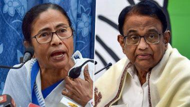 P Chidambaram Arrested in INX Media Case: Mamata Banerjee Says Procedure Opted by CBI 'Depressing, Bad and Sad'