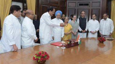 Manmohan Singh Takes Oath as Rajya Sabha Member