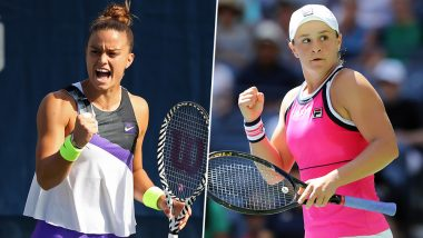 Ashleigh Barty vs Maria Sakkari, US Open 2019 Live Streaming & Match Time in IST: Get Telecast & Free Online Stream Details of Third Round Tennis Match in India