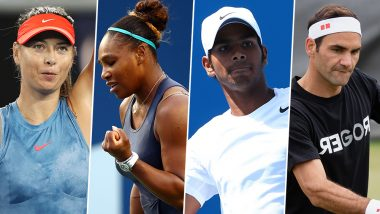 US Open 2019: Serena Williams vs Maria Sharapova, Sumit Nagal vs Roger Federer & Other First Round Tennis Matches To Watch Out For at Flushing Meadows