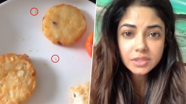 Meera Chopra Blasts Ahmedabad Hotel After Finding Maggots in Her Food, Calls For a Legal Action (Watch Video)