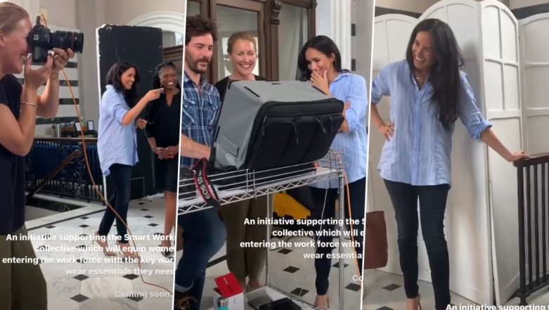 Meghan Markle's Outfits Can Now Be Yours! The Duchess of Sussex Collabs with a Designer Pal for Charity Work