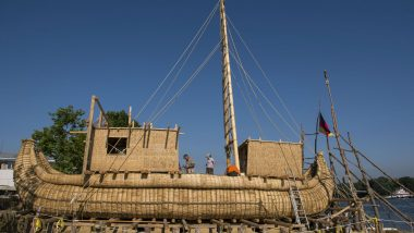 Did Ancient Egyptians Use Reed Boats to Travel As Far as the Black Sea? Adventurers to do the Same to Prove Theory