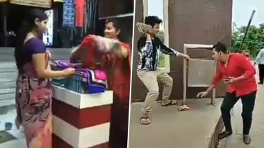 #MKMJAChallenge Video: Hilarious Mere Khwabon Main Jo Aye TikTok Clip Giving Swacchta and Moral Science Classes is Must See!