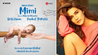 Kriti Sanon to Play a Surrogate Mother in Her Upcoming Film 'Mimi'
