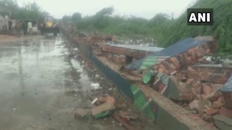 Gujarat: Compound Wall Collapses After Heavy Rains in Morbi, Eight Killed